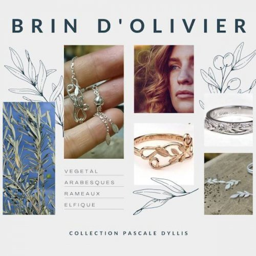 "Collection ""Brin d'olivier"" de Pascale Dyllis"